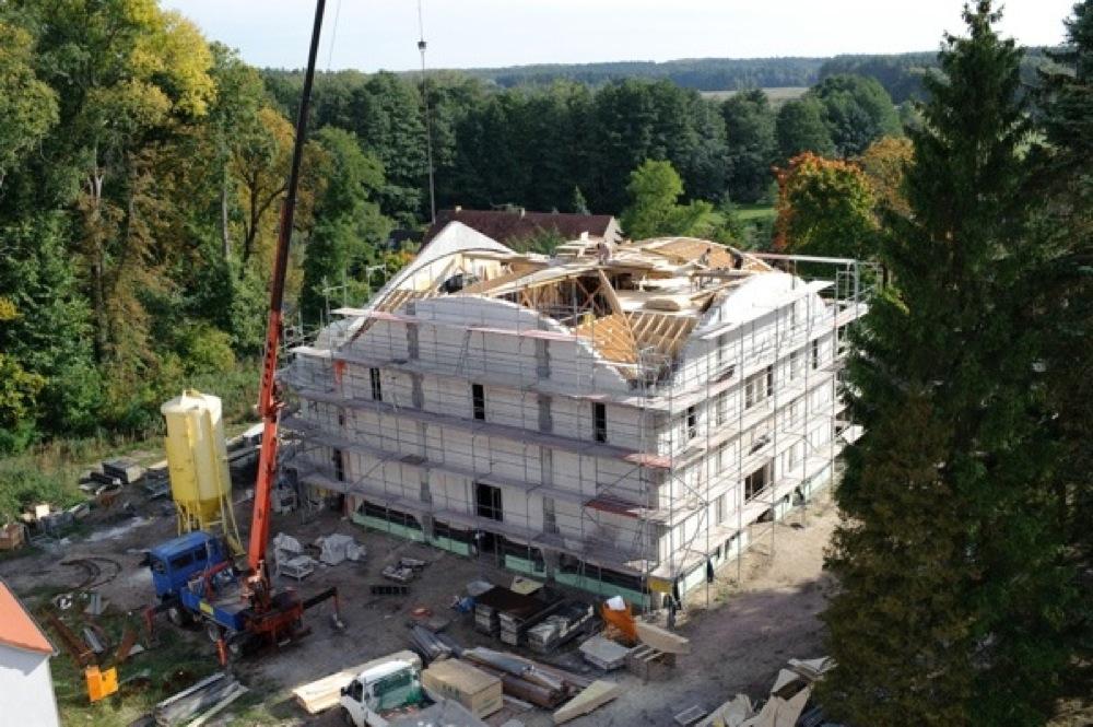 Bau der St. Georg Kirche
