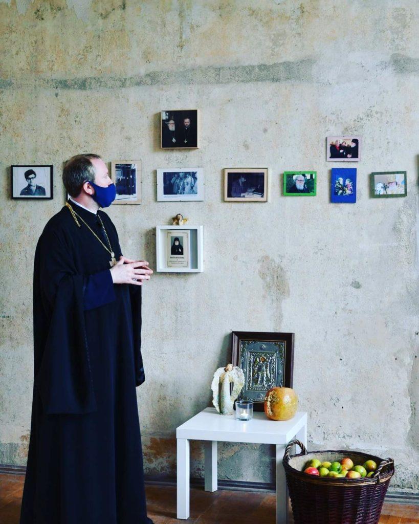 Открытие фотовыставки приснопамятного архиепископа Берлинского и Германского Феофана