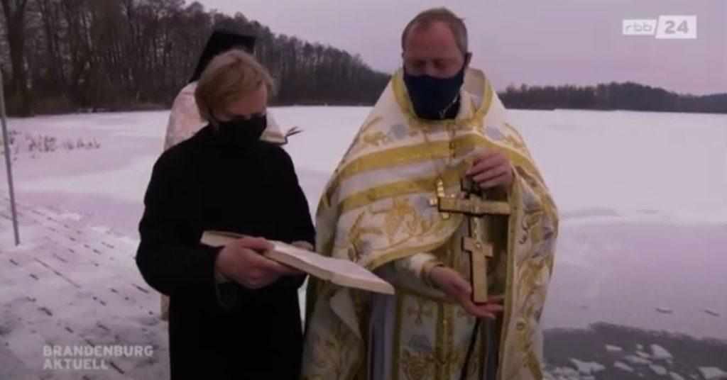 В Крещенский Сочельник и в день Богоявления прошли праздничные богослужения.