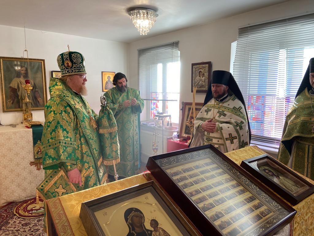 Праздничная Литургия в день тезоименитства игумена Даниила
